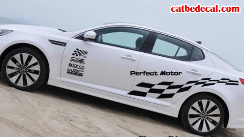 Hướng dẫn dán decal ôtô cho xe Toyota Vios đẹp nhất
